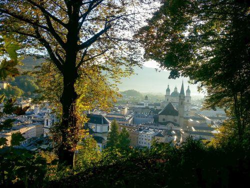 salzburg austria autumn