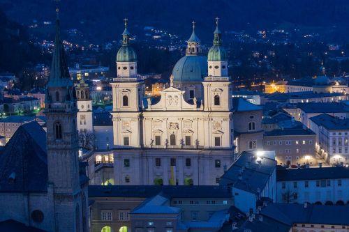salzburg cathedral salzburg austria