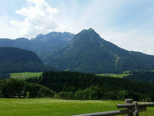 salzburger land mountains austria