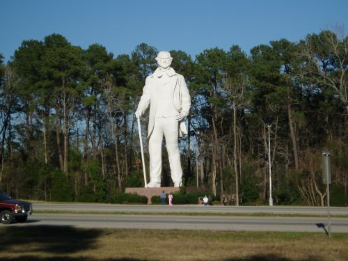 sam houston statue texas