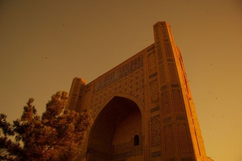 samarkand registan uzbekistan
