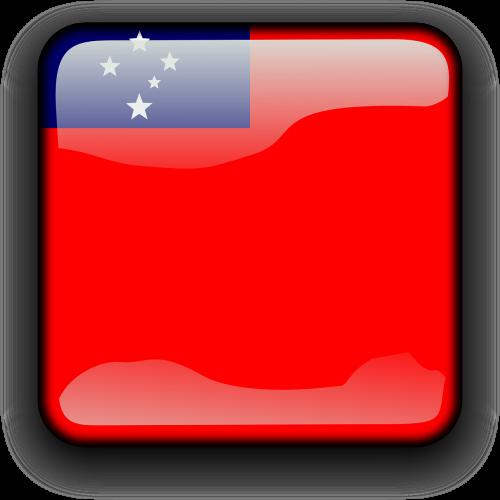 samoa flag country