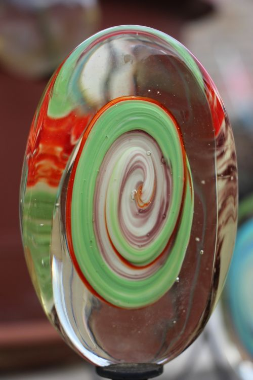 sample abstract glass