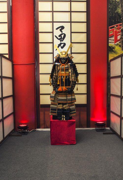 samurai armor warrior
