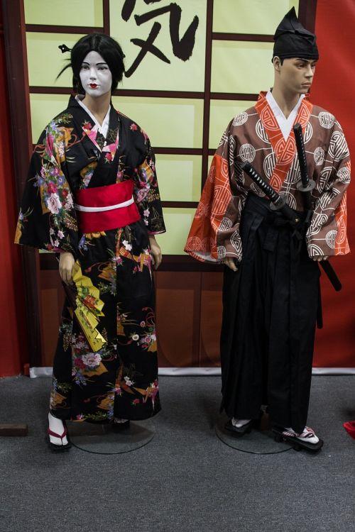 samurai geisha baby doll
