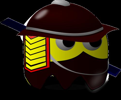 samurai baddie pacman