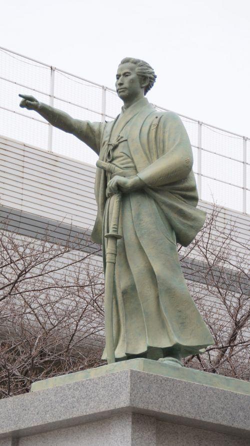 samurai sculpture japan