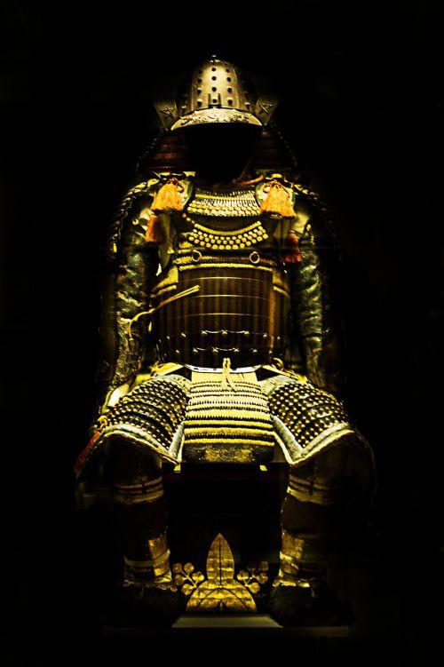 samurai gold armour