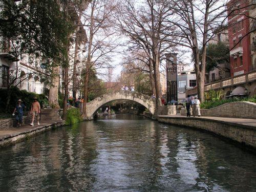 San,antonio,riverwalk,miestas,istorinis