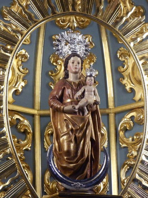 san andrés y sauces virgin mary virgin of montserrat