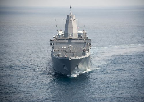 san antonio-class amphibious transport dock vessel