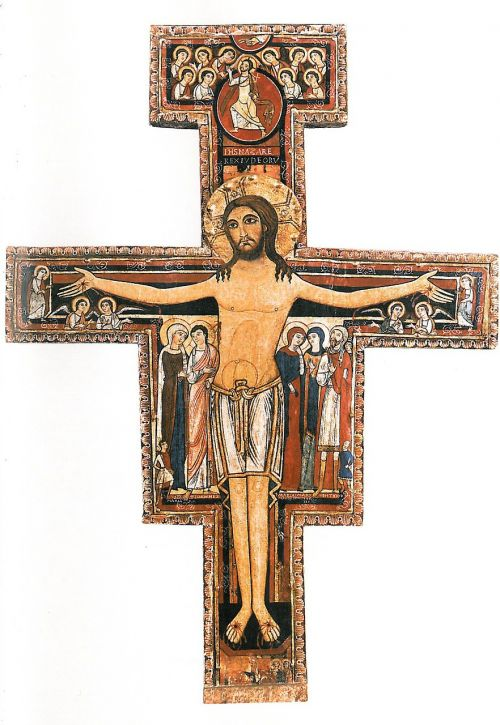 san damiano saint francis assisi