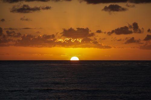 san diego sunset sun