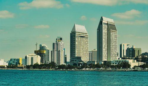 san diego city coastline