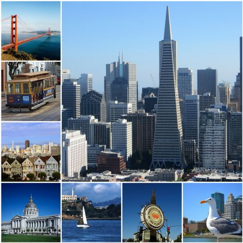 san francisco photo collage collage