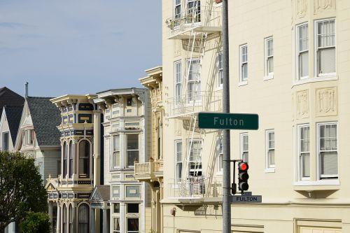 san francisco home street sign