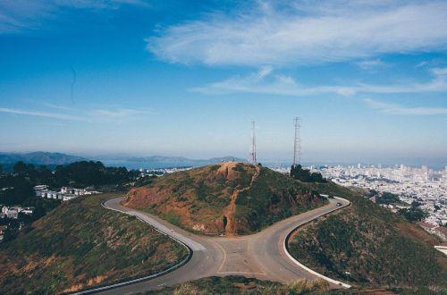 San Franciskas, dvynių smailės, tyrinėjimas