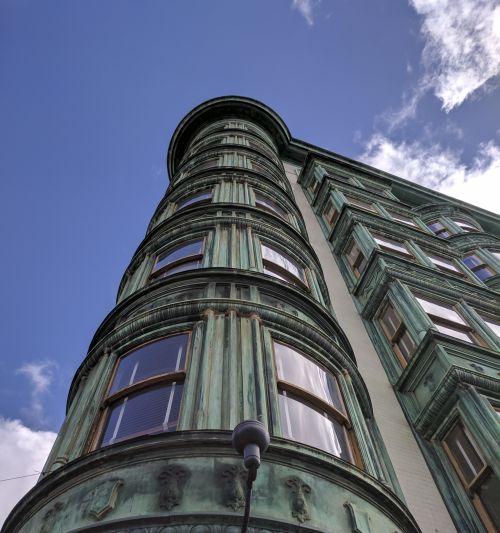 San & nbsp, francisco, dangoraižis, pastatas, miestas, miesto, aukštyn, horizontas, senas, architektūra, san francisco architektūra