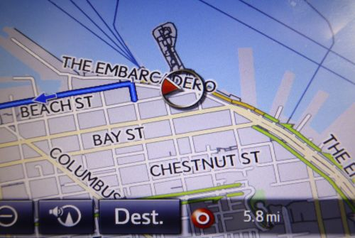 San Francisco Embarcadero GPS