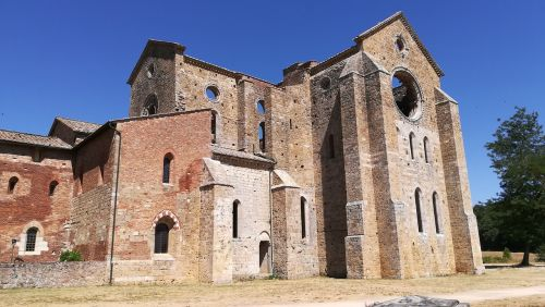 san galgano abbey the crusades