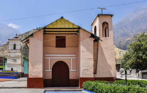 san jeronimo de surco  church  peru