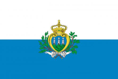 san marino flag national flag
