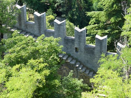 san marino castle walls