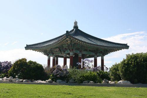 san pedro the korean bell of friendship korean