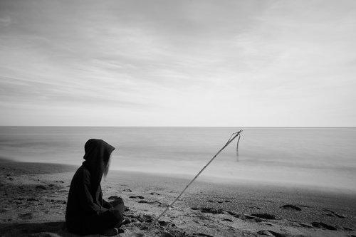 sanar  black and white  portrait