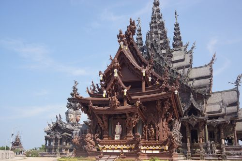sanctuary of truth temple wooden