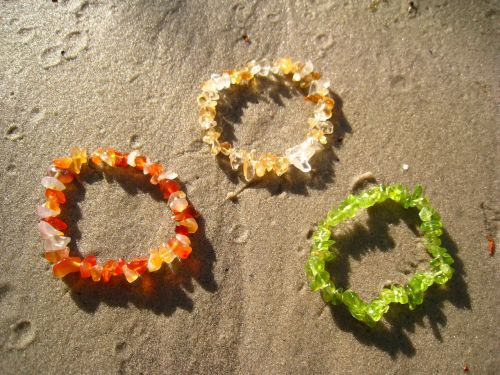 sand beach sliver bracelet