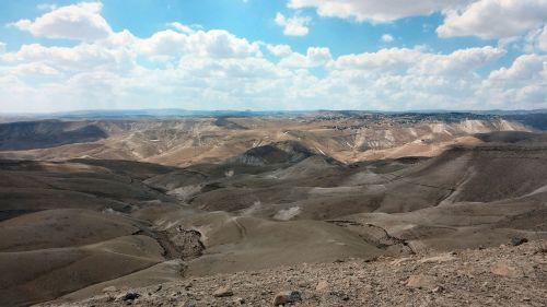 smėlis,dykuma,Judėjos dykuma,Izraelis,peizažas,kalvos,dangus,dykuma,sausas,kraštovaizdis,gamta,reljefas,debesis