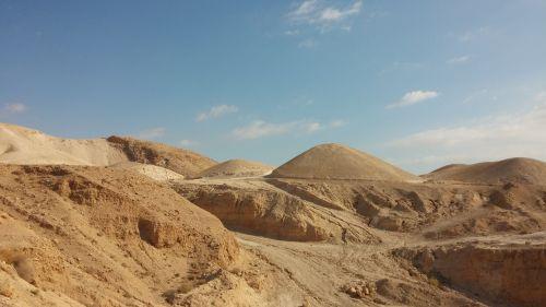 smėlis,dykuma,Judėjos dykuma,Izraelis,peizažas,kalvos,dangus,dykuma,sausas,kraštovaizdis,gamta