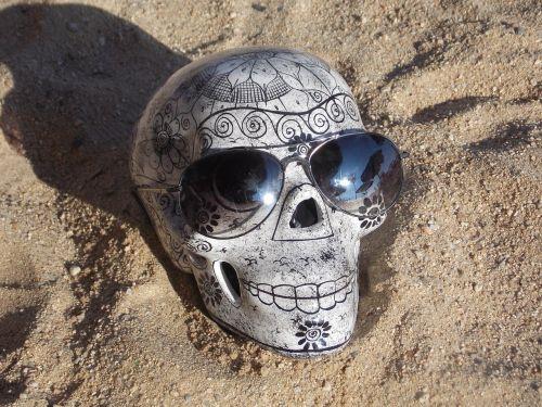 sand skull lenses