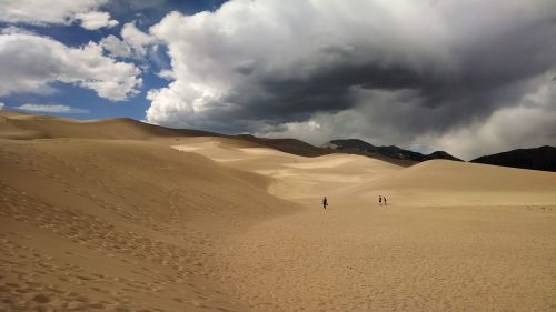 sand great sand dunes national park