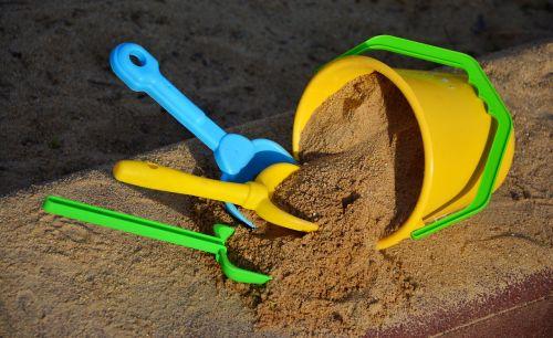 sand sand bucket scoop