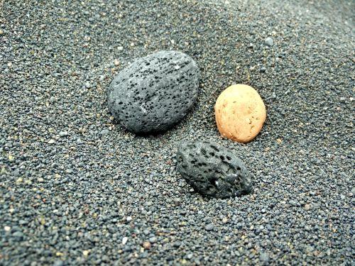 sand pebble stones