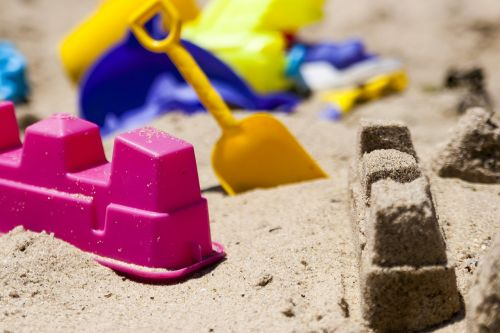 sand toys beach