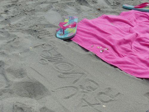 sand beach idleness