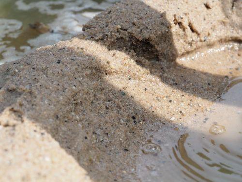 sand water sea