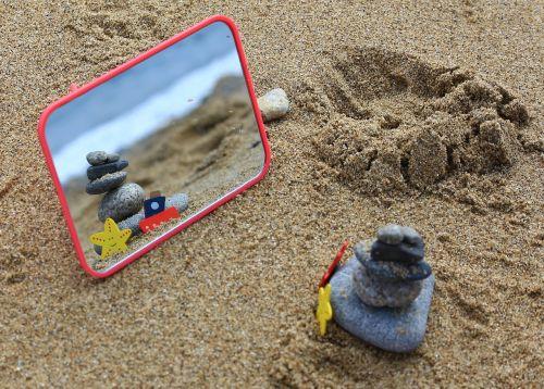 sand beach insert