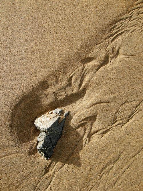 sand pattern beach