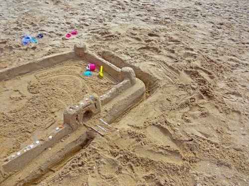 sand beach sandburg sand toys