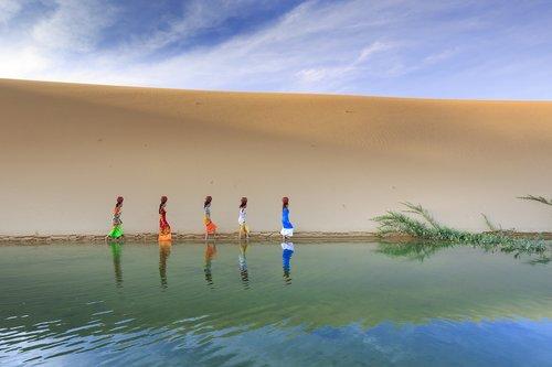 sand dunes  sand  outdoor