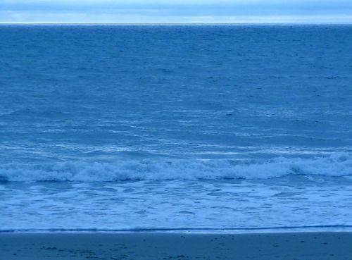 Sand Ocean Sky Horizon