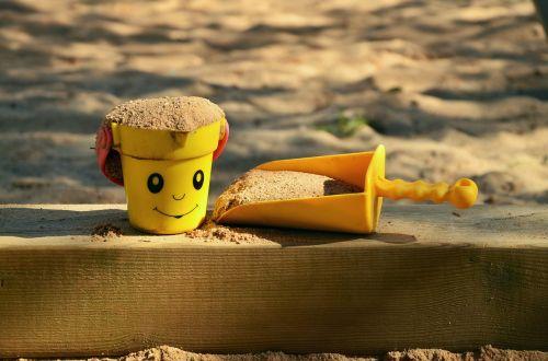 sand pit children's playground sand