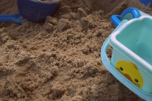 sand pit playground sand