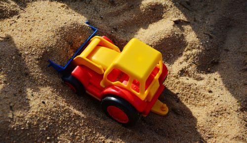 sand pit excavators scoop