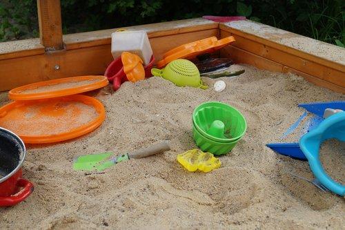 sand pit  sand  sand toys