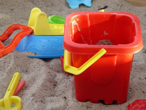 sand pit toys toy bucket
